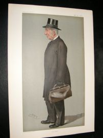 Vanity Fair Print 1901 James John Hornby